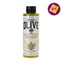 Korres Olive Αφρόλουτρο με Άνθη Ελιάς 250ml 2+1