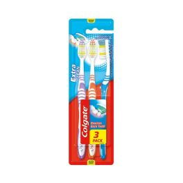 Colgate Extra Clean Medium Οδοντόβουρτσα 3τμχ
