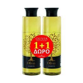 Papoutsanis Olivia Αφρόλουτρο 300ml 1+1 Δώρο