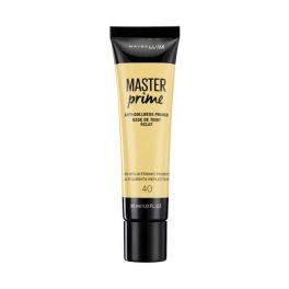Maybelline Master Prime 40 Κίτρινη Βάση Μακιγιάζ Primer Κατά Της Θαμπάδας 30ml
