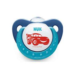 Nuk Trendline Disney Cars Πιπίλα Σιλικόνης 0-6m