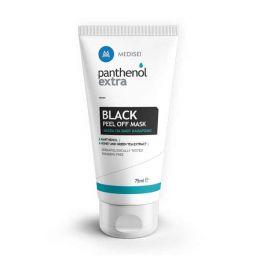 Medisei Panthenol Extra Black Peel Off Μάσκα Προσώπου Για Βαθύ Καθαρισμό 75ml