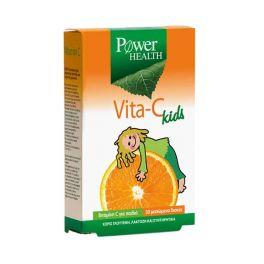 Power Health Vita-C Kids Βιταμίνη C Για Παιδιά 30 Μασώμενα Δισκία