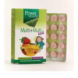 Power Health Multi+Multi Kids Πολυβιταμίνη Για Παιδιά 30 Μασώμενα Δισκία