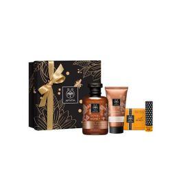 Apivita Royal Honey Gift Set Με Κρεμώδες Αφρόλουτρο 300ml & Πλούσια Ενυδατική Κρέμα Σώματος 200ml & Σαπούνι 125g & Ενυδατικό Στικ Χειλιών 4.4g