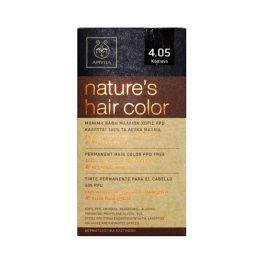 Apivita Nature's Hair Color Μόνιμη Βαφή Μαλλιών 4.05 Κάστανο
