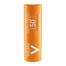 Vichy Ideal Soleil Αντηλιακό Στικ Για Τις Ευαίσθητες Ζώνες Spf50 9gr