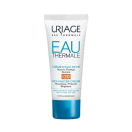 Uriage Eau Thermale Ενυδατική Κρέμα Προσώπου Πλούσιας Υφής Spf20 Για Ξηρό/Πολύ Ξηρό Δέρμα 40ml