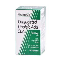 Health Aid CLA 1000mg Για Καύση Λιπών & Καλοσχηματισμένο Σώμα 30 Κάψουλες