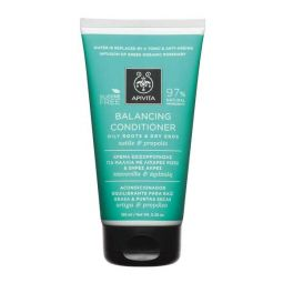 Apivita Balancing Conditioner Κρέμα Εξισορρόπησης Για Μαλλιά Με Λιπαρές Ρίζες & Ξηρές Άκρες Με Τσουκνίδα & Μέλι 150ml