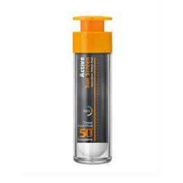 Frezyderm Active Αντηλιακή Κρέμα Προσώπου Ελαφριάς Υφής Με Χρώμα Spf50+ 50ml