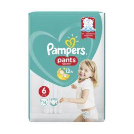 Pampers Pants Πάνες-Βρακάκι No6 15kg+ 14τμχ