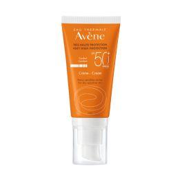 Avene Solaire Αντηλιακή Κρέμα Προσώπου Για Ξηρό & Ευαίσθητο Δέρμα Spf50+ 50ml