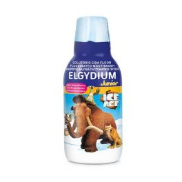 Elgydium Junior Ice Age Παιδικό Φθοριούχο Στοματικό Διάλυμα Με Γεύση Κόκκινων Μούρων  7-12 Ετών 500ml