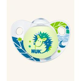 Nuk Πιπίλα Trendline Night & Day σιλικόνης χωρίς κρίκο 18-36m
