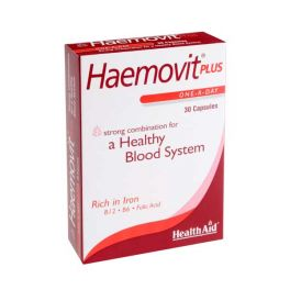 Health Aid Haemovit Plus Υγιές Αιμοποιητικό 30 Κάψουλες