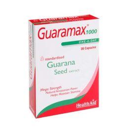 Health Aid Guaramax 1000 Φυτικό Τονωτικό 30 Κάψουλες