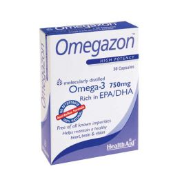 Health Aid Omegazon Ω3 Λιπαρά Οξέα 30 Κάψουλες