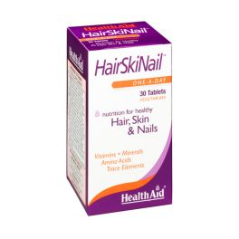 Health Aid  HairSkiNail Vegeterian 30 Ταμπλέτες