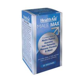 Health Aid Male Max Για Την Ανδρική Απόδοση 30 Κάψουλες