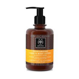 Apivita Ενυδατική Λοσιόν Για Τα Χέρια & Το Σώμα Με Γκρέιπφρουτ & Μέλι 300ml