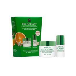 Apivita Bee Radiant Set Με Κρέμα Αντιγήρανσης & Λάμψης Πλούσιας Υφής Για Κανονικό/Ξηρό Δέρμα 50ml & Δώρο Κρέμα Ματιών 15ml