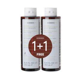 Korres Σαμπουάν Πρωτεΐνες Ρυζιού & Τίλιο Για Λεπτά-Αδύναμα Μαλλιά 250ml 1+1 Δώρο