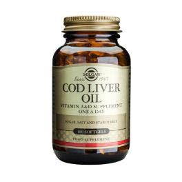 Solgar Cod Liver Oil One A Day Βιταμίνες 100 Softgels