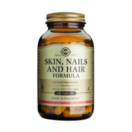 Solgar Skin, Nails & Hair Formula 120 Tabs