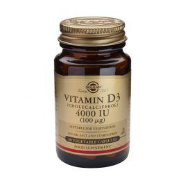 Solgar Vitamin D3 4000IU 100mcg Βιταμίνες 60 Veg. Caps