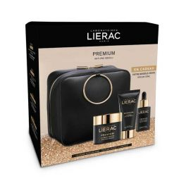 Lierac Premium Xmas Set Απόλυτης Αντιγήρανσης Με Μεταξένια Κρέμα Προσώπου Ημέρας & Νύχτας 50ml & Η Θεϊκή Μάσκα Προσώπου 75ml & Δώρο Ορός Προσώπου 30ml