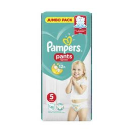 Pampers Pants Πάνες-Βρακάκι Νο5 12-17kg 48τμχ