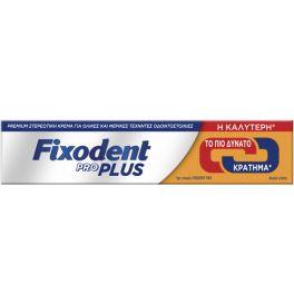 Fixodent Pro Plus Premium Στερεωτική Κρέμα Για Τεχνητές Οδοντοστοιχίες 40g