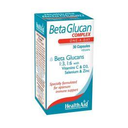 Health Aid Beta Glucan Complex Για Το Ανοσοποιητικό 30 Κάψουλες