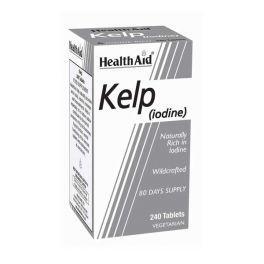 Health Aid Kelp (iodine) Φύκια Νορβηγικής Προέλευσης 240 Ταμπλέτες