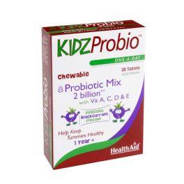 Health Aid KidsProbio Προβιοτικά Για Παιδιά 30 Μασώμενες Ταμπλέτες