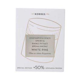 Korres Special Edition Λευκή Πεύκη Αναπλήρωση Όγκου Θρέψη & Βαθιές Ρυτίδες Κρέμα Ημέρας Για Όλες Τις Επιδερμίδες Μετά Την Εμμηνόπαυση 60ml