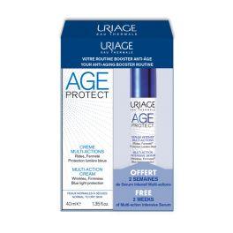Uriage Age Protect Set Με Αντιγηραντική Κρέμα Προσώπου Πολλαπλών Δράσεων Για Κανονικό Προς Ξηρό Δέρμα 40ml & Δώρο Αντιγηραντικός Εντατικός Ορός Προσώπου Πολλαπλών Δράσεων 10ml