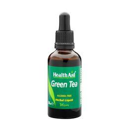 Health Aid Green Tea Liquid Πράσινο Τσάι Διαιτητικό & Αντιοξειδωτικό Εκχύλισμα 50ml