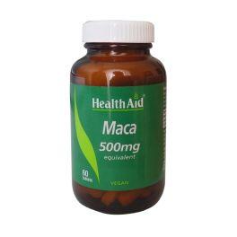 Health Aid Maca 500mg Για Την Τόνωση & Ευεξία Του Οργανισμού 60 Ταμπλέτες
