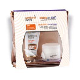 Panthenol Extra Set Με Sun Care Αντηλιακό Τζελ Προσώπου Με Χρώμα Spf30 50ml & Δώρο Αντιρυτιδική Κρέμα Ημέρας Προσώπου/Ματιών 50ml