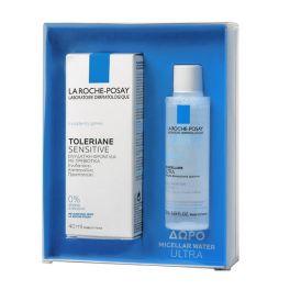 La Roche-Posay Set Με Toleriane Sensitive Κρέμα Ενυδάτωσης Προσώπου Κανονικές/Μικτές Επιδερμίδες Με Πρεβιοτικά 40ml & Δώρο Micellar Water Ultra 50ml