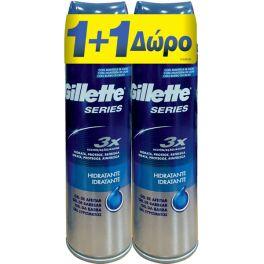 Gillette Series 3x Ενυδατικό Τζελ Ξυρίσματος 200ml 1+1 Set