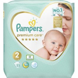 Pampers Premium Care Πάνες No2 4-8kg 23τμχ