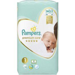 Pampers Premium Care Πάνες No1 2-5kg 52τμχ