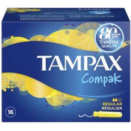 Tampax Compak Regular Ταμπόν Με Απλικατέρ 16τμχ