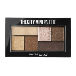 Maybelline The City Mini Palette Παλέτα Σκιών 400 Rooftop Bronzes 6g