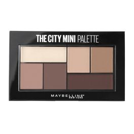 Maybelline The City Mini Palette Παλέτα Σκιών 480 Matte About 6g