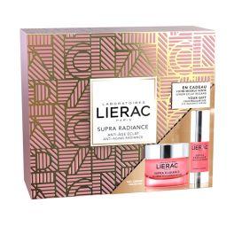 Lierac Supra Radiance Set Με Κρέμα-Τζελ Προσώπου Ενεργοποίησης Λάμψης Για Κανονικό/Μικτό Δέρμα 50ml & Δώρο Ορός Ματιών 15ml