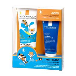 La Roche-Posay Set Με Anthelios Dermo-Pediatrics Βρεφικό/Παιδικό Αντηλιακό Τζελ Προσώπου/Σώματος Για Βρεγμένο Δέρμα Spf50+ 250ml & Δώρο Lipikar Τζελ Καθαρισμού 100ml